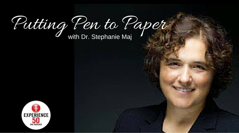 Putting Pen to Paper! An Interview with Dr. Maj